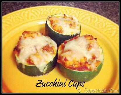1000+ ideas about Zucchini Cups on Pinterest | Zucchini ...