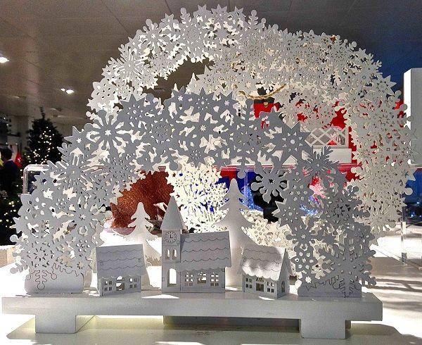 Vm choice john lewis christmas displays retail design world