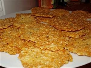 Parmesan Chips - South Beach Diet Friendly
