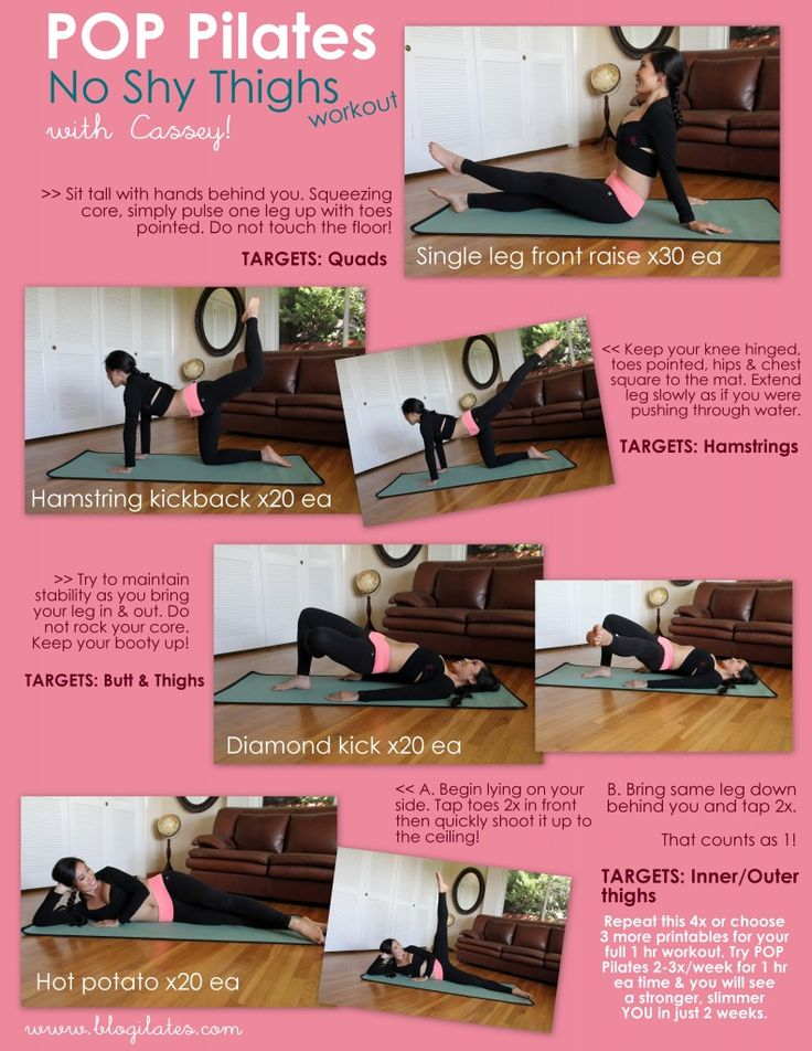 Thigh workout!
