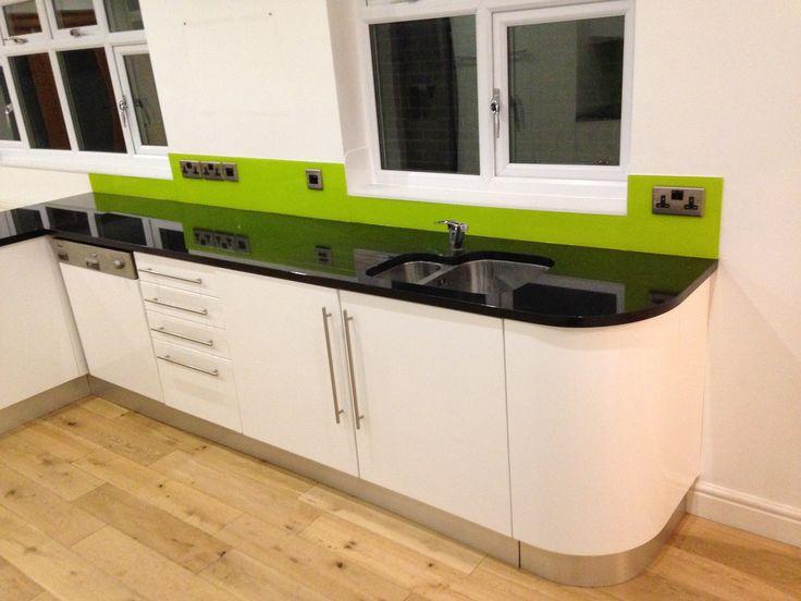 10 best Contemporary Kitchen Design - acrylic splashbacks images on ...