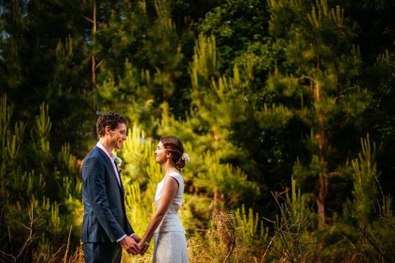 Camilla and Rob in Bangalow after their wedding at the Guest House - #celebrant #michelleshannon