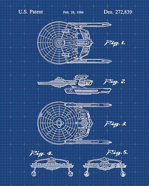 USS Reliant Miranda Class Starship Star Trek by VisualDesign, $6.95