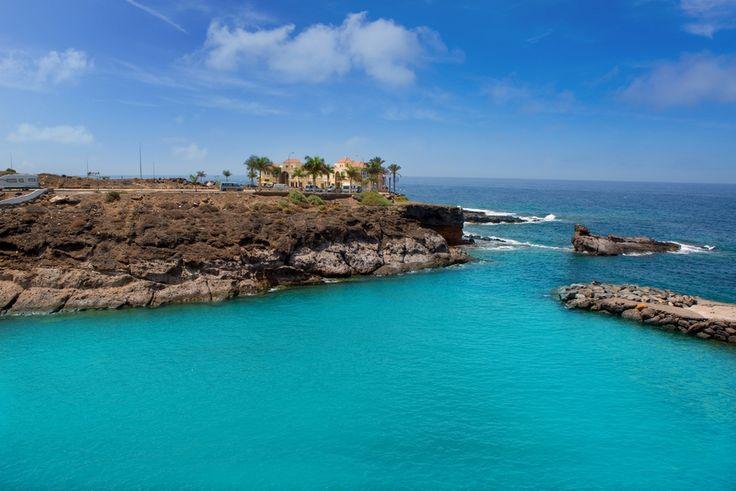 Playa Paraiso, Costa Adeje, Tenerife, Canary Islands.