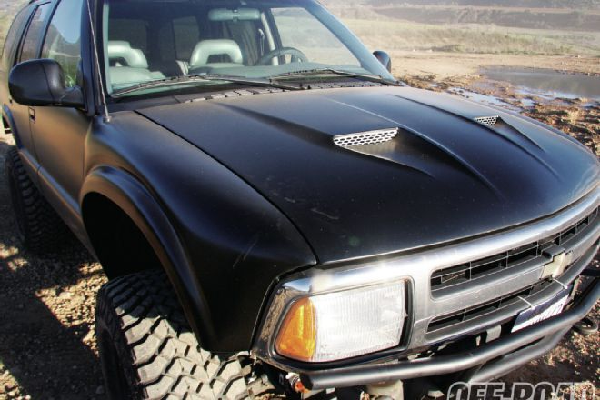 View 1108or 03 1996 Chevy S10 Blazer Project Almighty Dime Painted Photo 33028327 From Project Chevy S10 Blazer The Almi Chevy S10 S10 Blazer Chevy S10 Zr2
