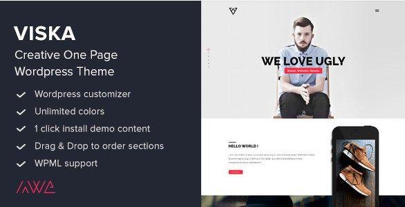 Download Viska  Creative One Page WordPress Theme v1.9.1 Download Viska  Creative One Page WordPress Theme v1.9.1 Latest Version