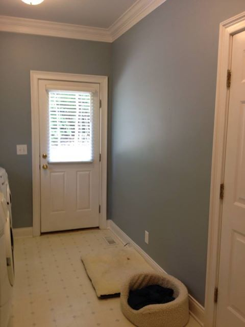 Laundry RoomI Love This Color Benjamin Moore Nimbus Gray