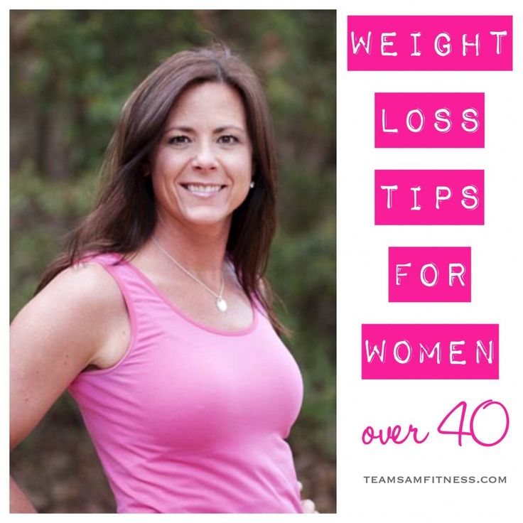 weight loss over 40 tips