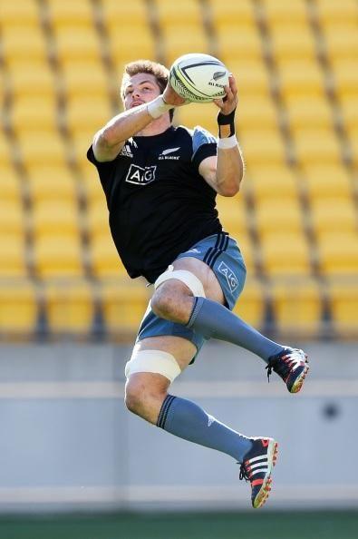 Captain Richie McCaw at the captain's run #NZLvRSA