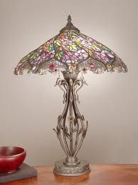 Tiffany lamp...so soft and gentle in color