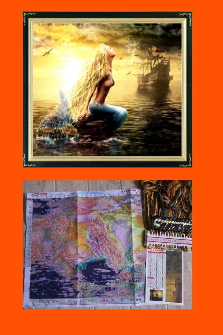 Mermaid Cross Stich Patterns