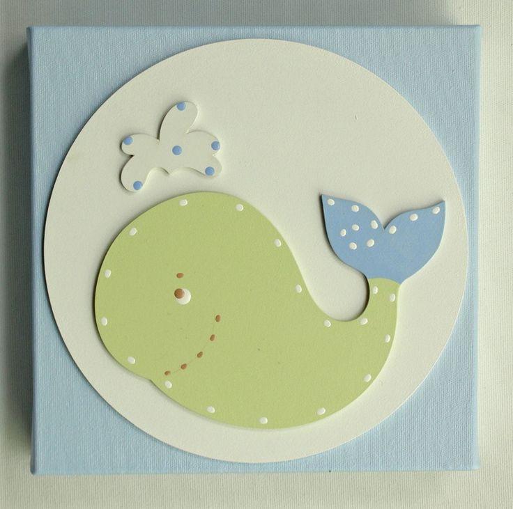 """Material: tela com apliques em mdf, e pintura acrílica acetinada, permite limpeza com pano úmido e """"veja""""    Elaboramos vários outros itens nesse tema, acesse a pasta """"tema fundo do mar"""""""