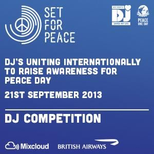 < PLEASE LISTEN for VOTE > CONTEST for the PEACE ONE DAY By MORGAN COOPER (Tekno-Events) Thank for support