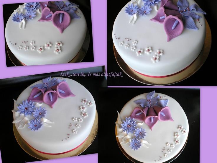 Ízek...torták...és más állatfajták: Lila kálás torta