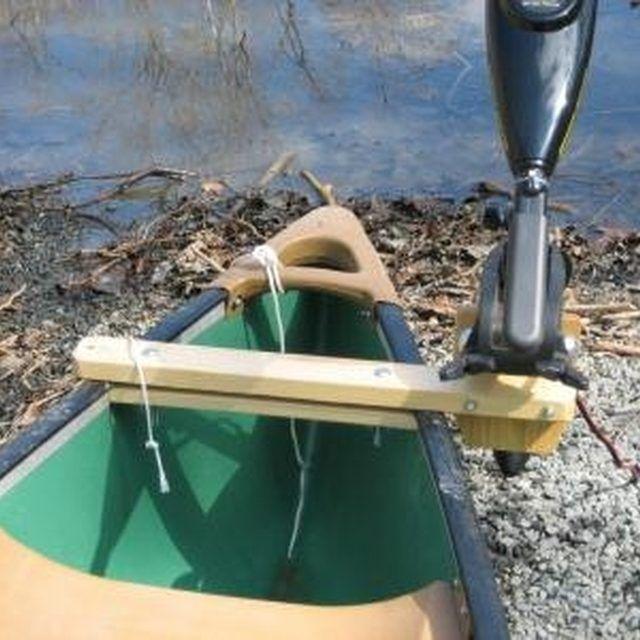 Make A Canoe Motor Mount