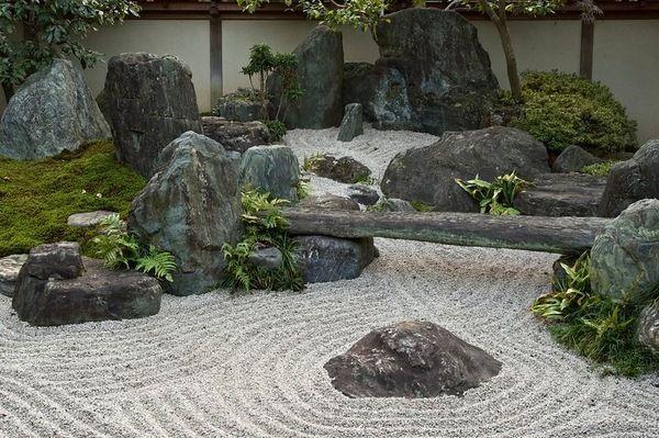 Elements of a Zen Garden | Placing stones in Zen garden design