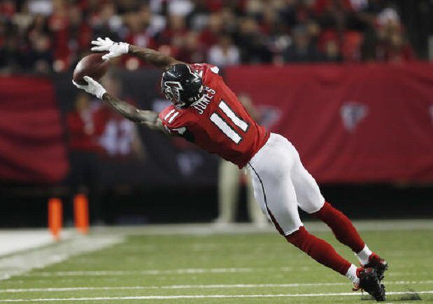 Julio Jones in top 10 of Pro Bowl voting