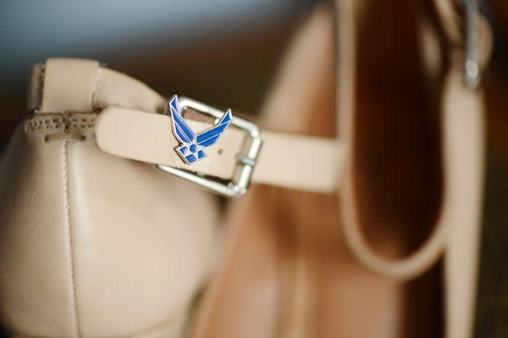 Air Force Wedding- something blue?