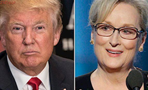 Meryl Streep responde grosseria de Trump: 'Sou a mais premiada'