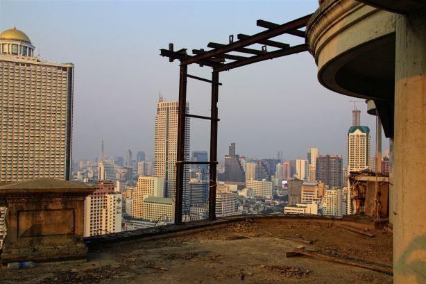 Vue du sommet de la Ghost Tower / View from top of the Ghost Tower | Bangkok, Thailand