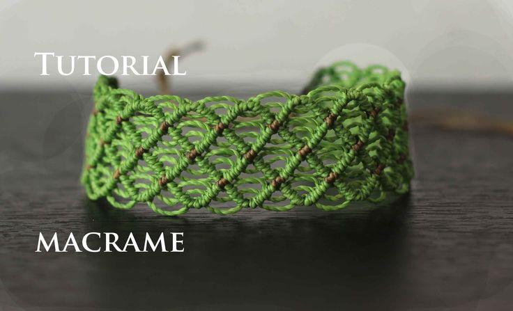 pulsera macrame modelo 48 | friendship bracelet tutorial web : http://elmacrame.com no olvides seguirme en mis redes sociales para que estemos en contacto y ...