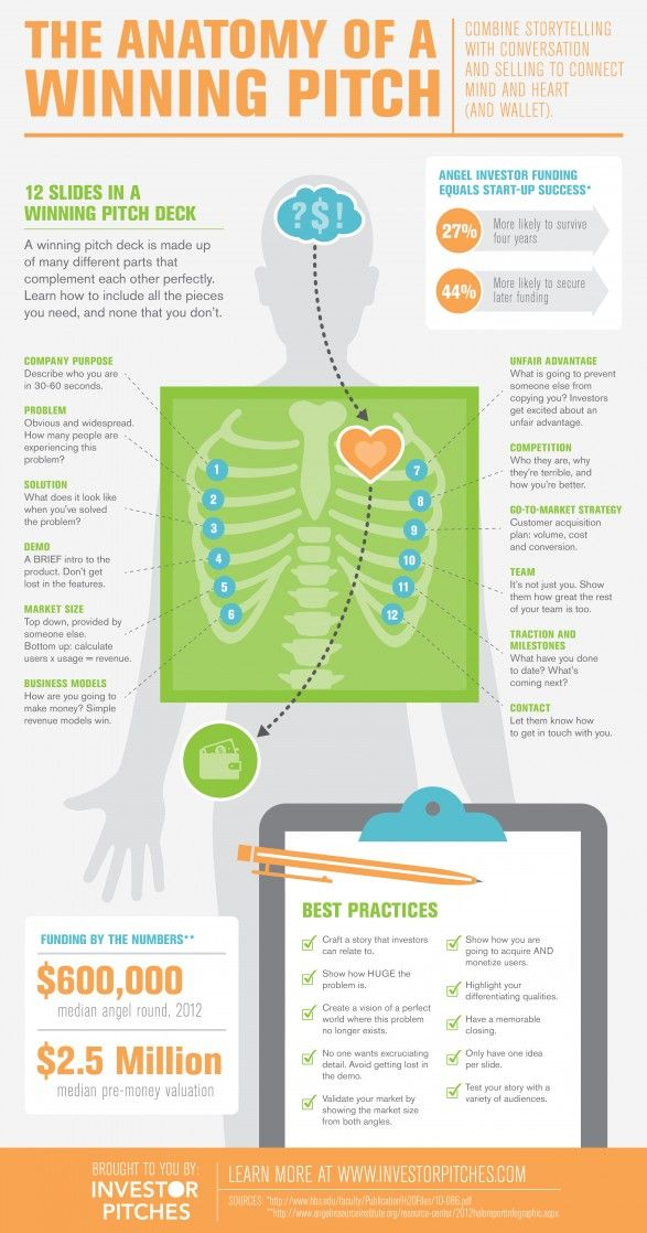 infographic  the anatomy of a winning pitch