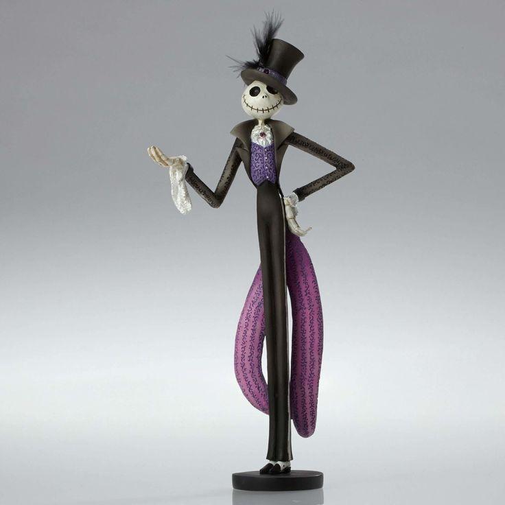 Nightmare Before Christmas - Jack Skellington - Showcase - Walt Disney Showcase Collection - World-Wide-Art.com - #disney #disneyshowcase #figurines #nightmarebeforechristmas #halloween #timburton