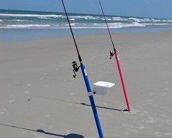 BigRod Beach surf fishing rod holder