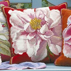 And next I'll do: Pink Peony by Kaffe Fassett from Ehrman Tapestries