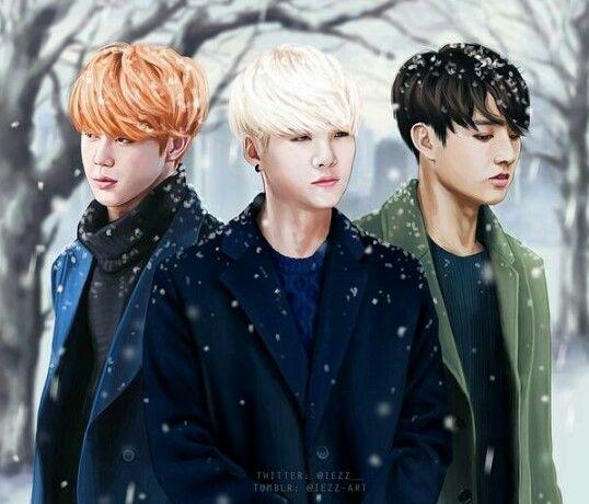 Pin De ROOKIE🐰 En BTS FanArt