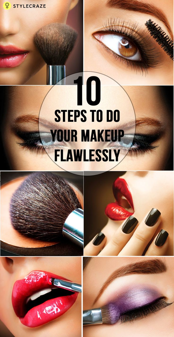 Makeup offers a visual delight that seamlessly hides flaws and skin imperfections. Given here are 12 steps to follow for a flawless makeup. Read on to know more