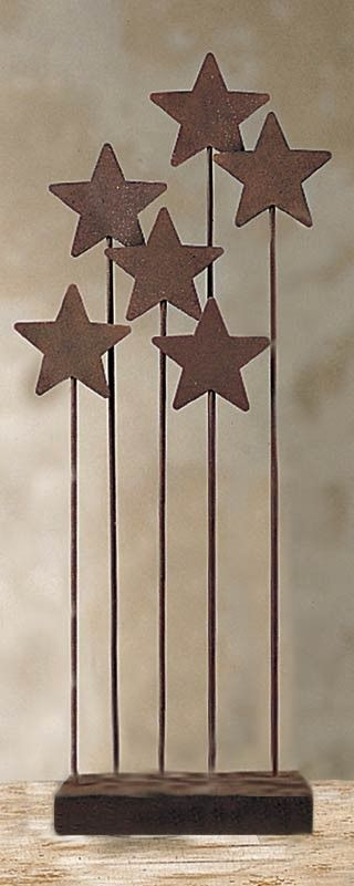 Willow Tree Metal Stars Nativity Backdrop