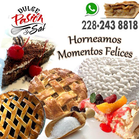 #DulcePasiónySal #Xalapa #XalapaEnríquez #Pastel #Pastelería #Dulce #PanArtesanal #XalapaVeracruz #Pay #Pan #Pays #Pie #Tarta #chickenpie #cheesepie  #MomentosFelices #Momentos