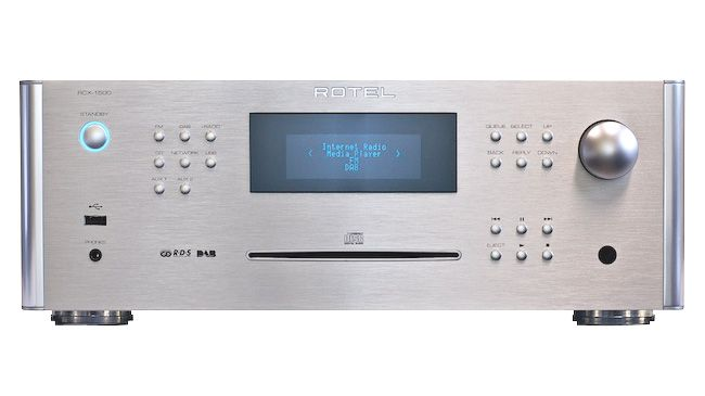 """Rotel RCX-1500, $1,500. Full-size chassis """"All-in-One"""" head unit (no """"matching"""" speakers offered, or included) .Stereo CD Player/FM & Internet Radio/USB Input & Network Streaming/ Integrated """"Class D"""" 100-watt/channel Amplifier. A larger & more powerful unit than most """"Compact Systems"""", able to drive floor-standing (or """"Bookshelf"""") speakers. Rotel is a well-regarded British/Japanese audiophile electronics maker. More Info: http://www.rotel.com/NA/products/ProductDetails.htm?Id=497#"""