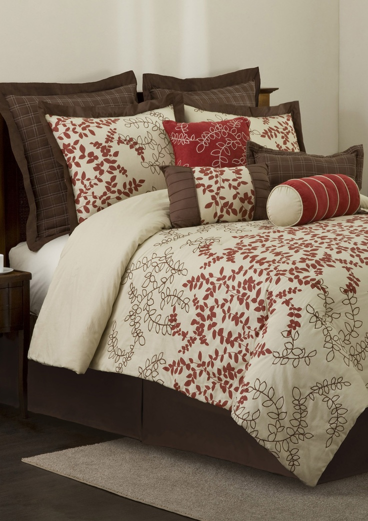 red and brown really serene bedroom decorbedroom ideasmaster