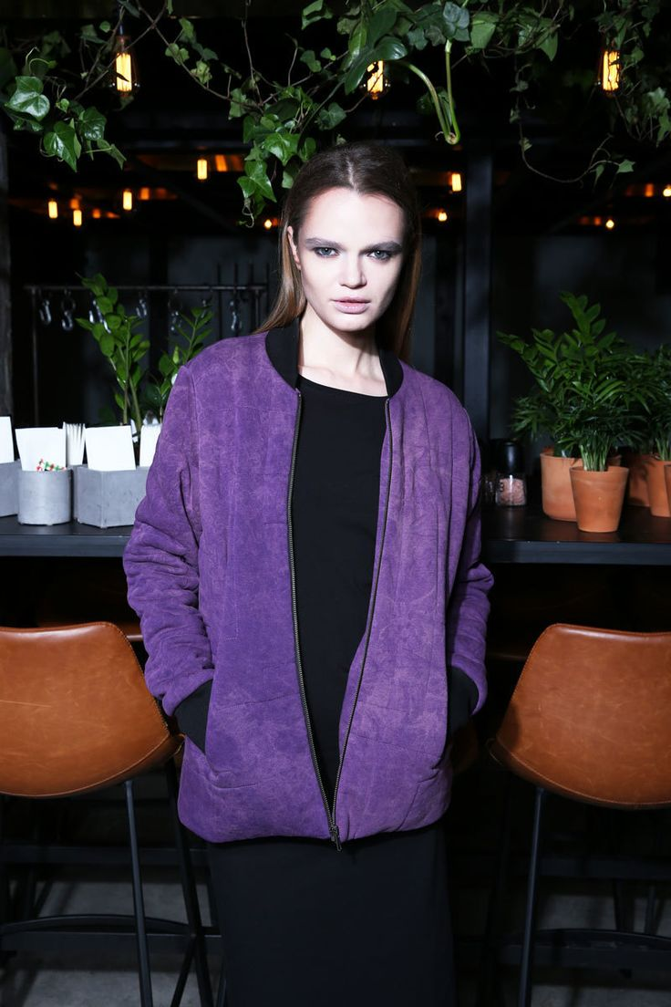 Women's short lilac bomber    #mariashi #fashion #russiandesigners #nofilter #outfit #outfitoftheday #outfits #outfitpost #clothes #fashionista #fashiondesigner #shopping #bomber #jacket