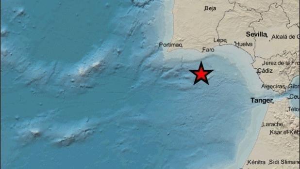Cádiz Registra Un Terremoto Este Martes A Las 18 30 Horas Cádiz Terremoto El Algarve