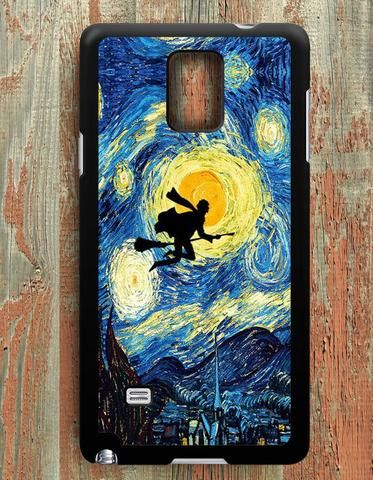 Starry Night Harry Potter Samsung Galaxy Note 4 Case