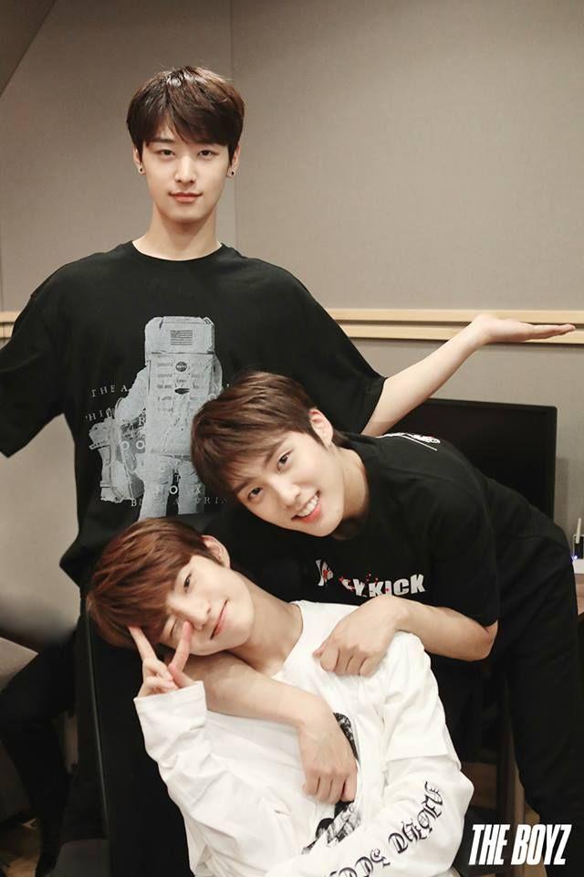 #The Boyz #Juyeon #Q #Jacob