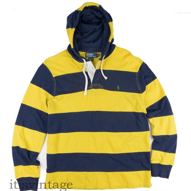 black and yellow ralph lauren hoodie