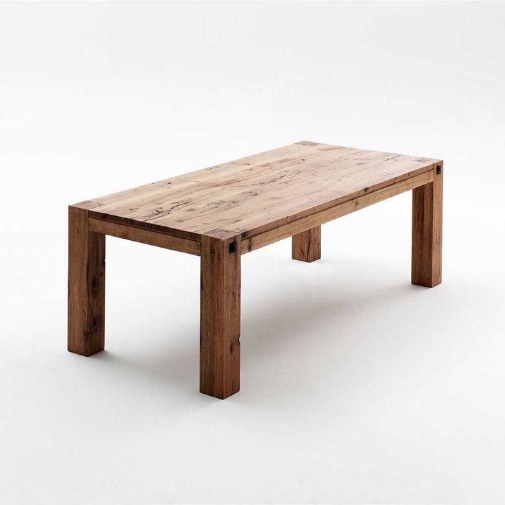 Hochwertiger Esstisch Asturian Aus Eiche Massivholz ✓ Lackiert U0026 Mit  Gebrauchsspuren ✓ Rustikales Design Z.B. In Länge ✓ Jetzt Sicher Online  Bestellen