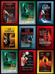Books like kim harrison hollows series