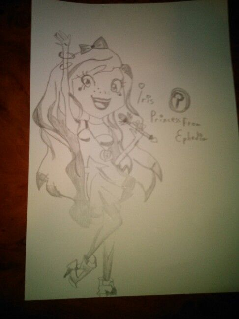 Iris - The Princess from Ephidia Scketh Drawing