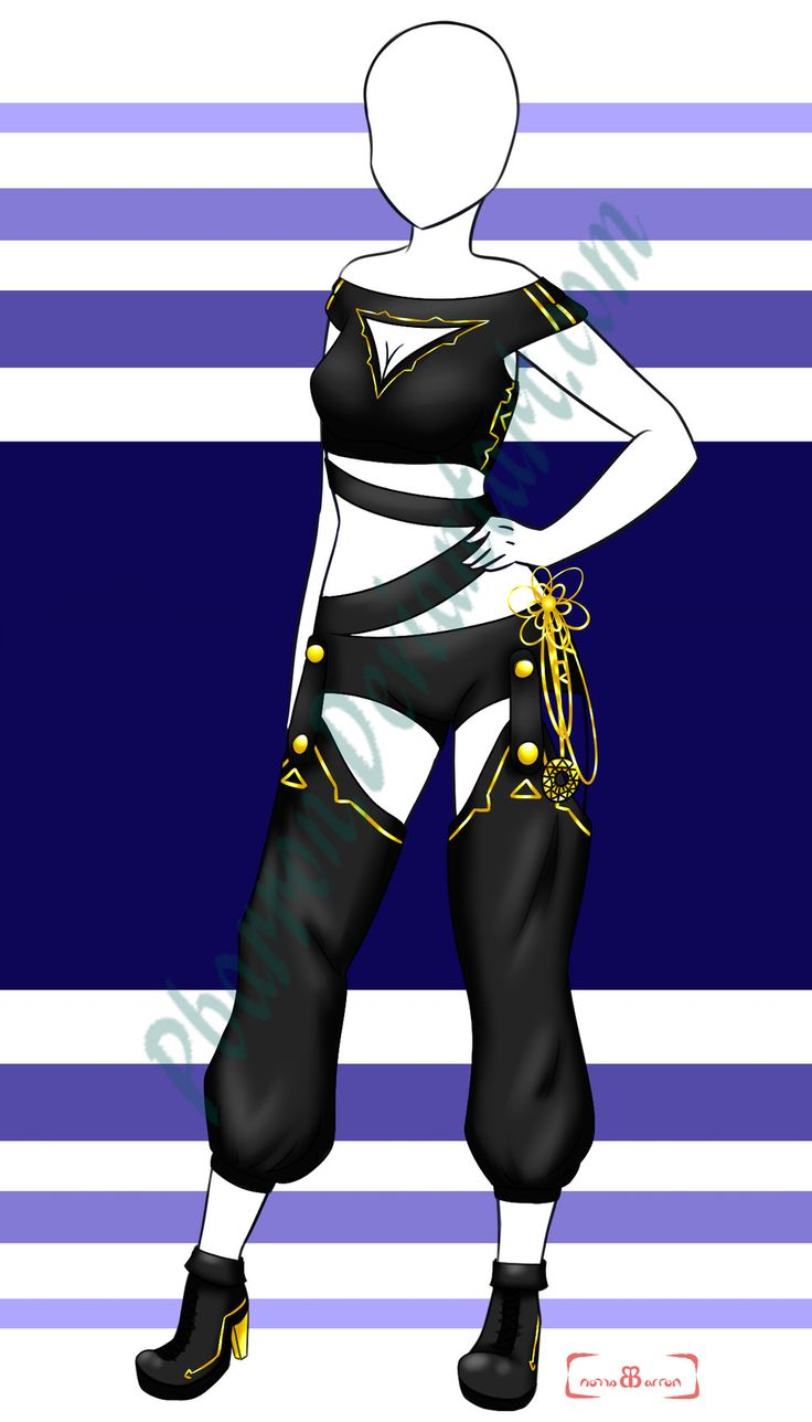 Character Design Dress Up : Adoptable closed by pbarron viantart on