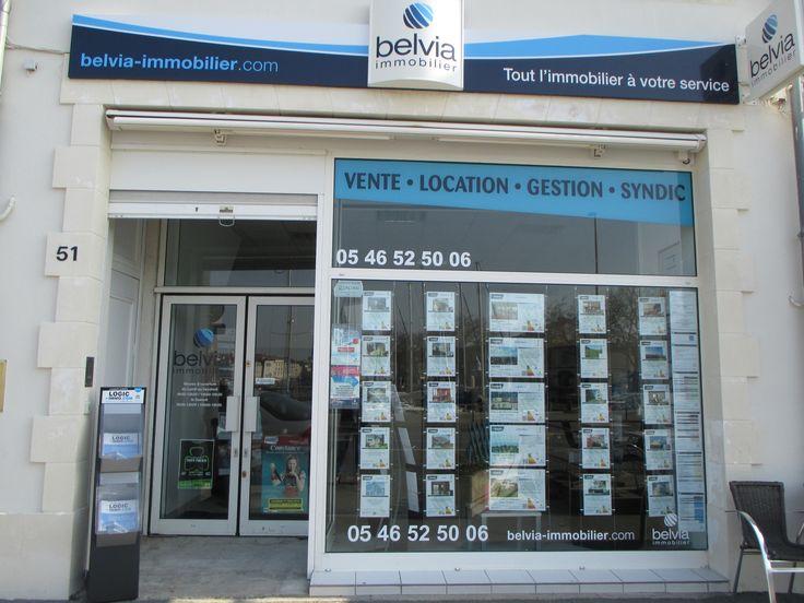 Belvia Immobilier La Rochelle  51 quai Valin 17000 La Rochelle 05 46 52 50 0
