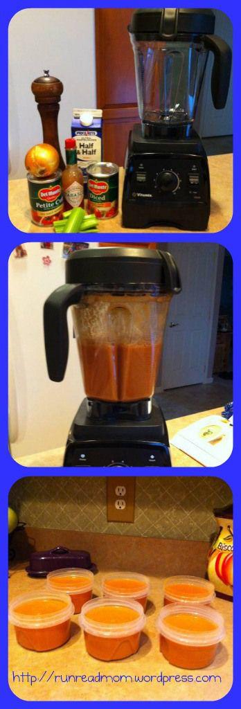 Simple Tomato Soup Vitamix