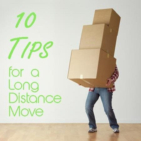 10 Tips for a Long Distance Move #movers #relocation #movingtips www.movepremier.com