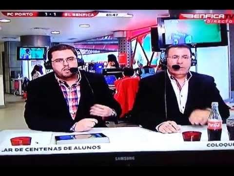 BENFICATV A reacção ao golo de Kelvin -- FCPorto x Benfica 11 Maio 2013