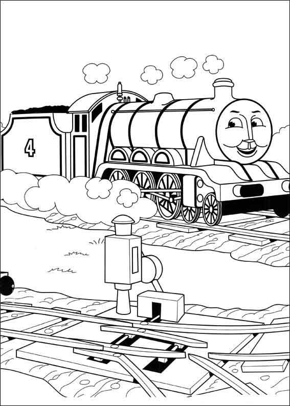 Beautiful Thomas The Train Coloring Pages For Gordon Printable Thomas Coloring Pages Free Ecolori In 2020 Train Coloring Pages Bear Coloring Pages Thomas And Friends