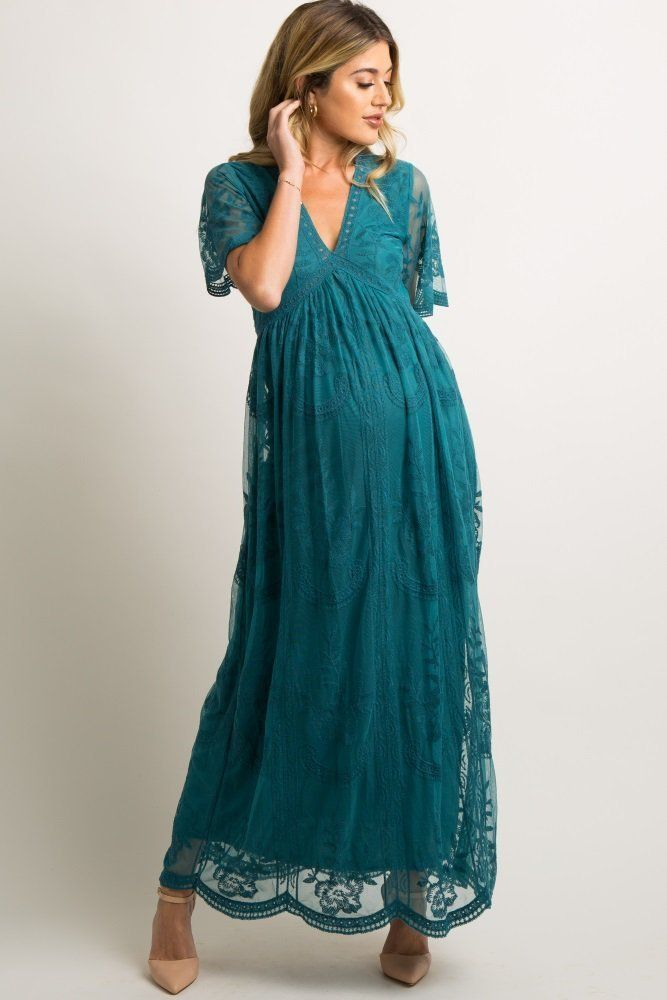 43+ Blue lace mesh overlay maxi dress inspirations